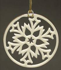 lenox snowflake ornament at replacements ltd