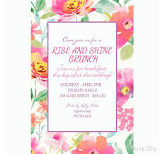 morning after wedding brunch invitations day after the wedding brunch ideas party city party city