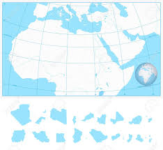 outline map middle east blank outline map of northern africa and the middle east with