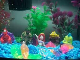 disney the mermaid fish tank