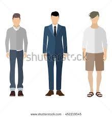 three men flat style icon people stock vector 452219545 shutterstock