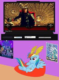 Rainbow Dash Meme - rainbow dash meme thor by joezilla1991 on deviantart