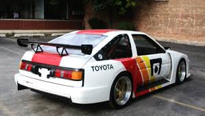 1986 toyota corolla gts hatchback for sale papadakis built sema car carbon widebody 1986 toyota corolla gt s