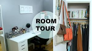 room tour office organization makeup storage tips to make a