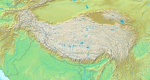 Map Of Nepal And Tibet file topografic map of tibetan plateau png wikimedia commons