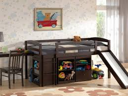 Kids Beds With Storage Underneath Kids Beds Awesome Boys Beds Bed With Desk Under Dark Wooden
