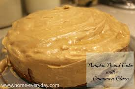 autumn comfort food pumpkin pound cake home everyday