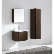 bathroom wall mounted 24 bathroom vanity with mirror cabinet and