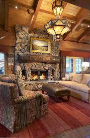 Rustic Wood Interior Walls Rustic Interior Design Paula Berg Design