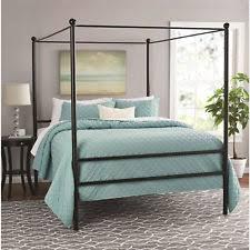 Canopy Bed Frames Mainstays Metal Canopy Beds Frames Ebay