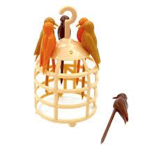 10pieces birdcage toothpick bird design toothpick with birdcage