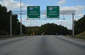 Atlanta Bypass Map by Georgia Aaroads Interstate 675