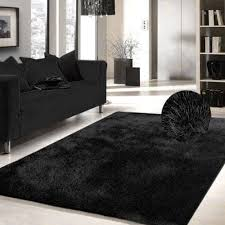 Solid Area Rugs Best 25 Black Shag Rug Ideas On Pinterest Decorative Rugs