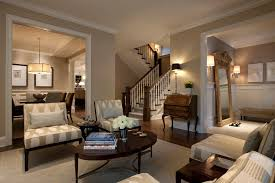 rustic paint colors living room traditional with wainscoting glass