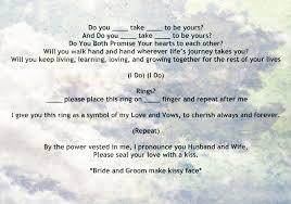 wedding ceremony script non religious non religious sweet wedding ceremony script par diy