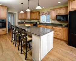 kitchen island remodeling contractors syracuse cny very neutral natural colors and woodwork make this kitchen feel comfortable casual and relaxing