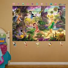 incredible disney usa products fairies tinkerbell decal stickers