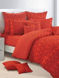 buy ikat print bed linen set by swayam online shopping for bed