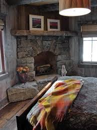 diy stone corner fireplace home design ideas