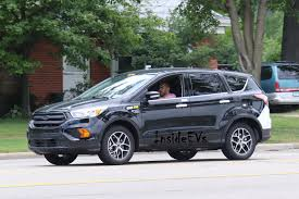 ford crossover suv ford escape energi plug in hybrid caught testing spy photos