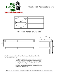 diy grill table plans diy big green egg table with concrete top diy pinterest big