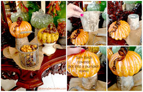 decorate small pumpkins home decor loversiq easy fall pumpkin decorating e2 80 94 crafthubs she displayed a cute ceramic on top to home