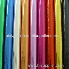 advanced fashion metallic colour shinning wrapping paper from
