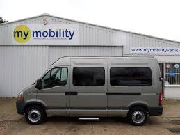 renault master minibus used 2010 renault master automatic versa wheelchair bus ricon lift