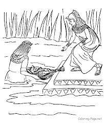 33 Best Coloring Bible Ot Genesis Images On Pinterest Sunday Bible Coloring Pages Moses