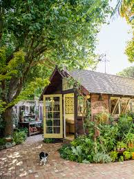 shed makeovers garden shed becomes a backyard retreat sunset magazine