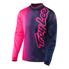 youth motocross jersey troy lee designs gp air jersey pink navy youth size m ebay