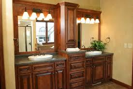 captivating bathroom vanity and linen cabinet custom vanity benevola