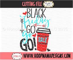 black friday coffee machine svg cutting files holiday black friday hoopmama designs llc