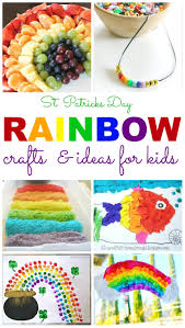 st patrick u0027s day rainbow crafts and ideas for kids homemade
