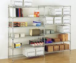 Wire Shelving Desk Different Uses For Different Shelving Materials The Shelving Blog