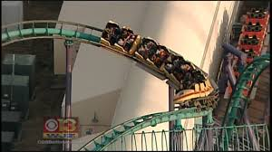 Six Flags Md Hours Firefighters Rescue 24 From Stalled Roller Coaster At Six Flags