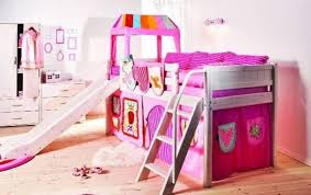 Princess Castle Bunk Bed Pink The Princess Castle Bunk Bed With Slide And Ladder The