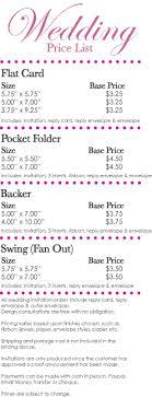 cost of wedding invitations wedding invitation pricing uc918 info