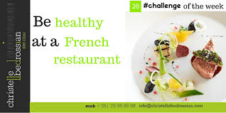christelle bedrossian challenge 20 i will be healthy at a french