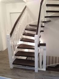 stufen treppe tischlerei neumann eingestemmte treppe aus buche handlauf und
