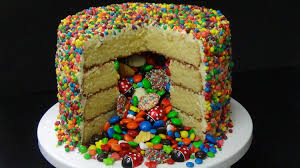 how to make pinata cake from scratch youtube