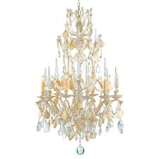 Baroque Chandelier Seashell 6 Light Baroque 2 Tier Chandelier Kathy Kuo Home