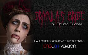 Vampire Halloween Makeup Tutorial Dracula U0027s Bride Halloween 2014 Make Up Tutorial Gothic Vampire