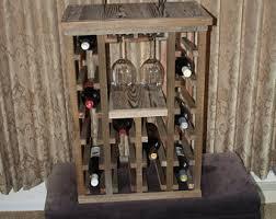 Barn Board Wine Rack Custom Wine Rack Etsy