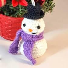 88 best crochet snowman images on crochet