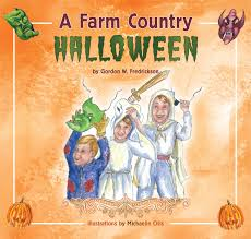 Vintage Halloween Books by A Farm Country Halloween Minnesota Prairie Roots