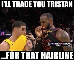 Lebron Hairline Meme - nba memes what lebron really said to lonzo ball 2 facebook