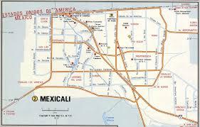 Tijuana Mexico Map Mexicali City Road Mapfree Maps Of Us