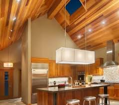 kitchen ceiling lights ideas led panel light fixtures modern and efficient home lighting ideas