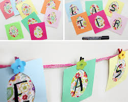 Diy Easter Decorations With Paper by Easter Decoration Idea For Home The Craftables